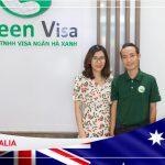 Phạm Nhật Phương Anh Visa thành công du học Úc