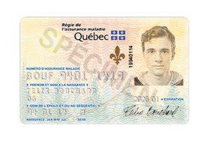 health insurance card Quebec